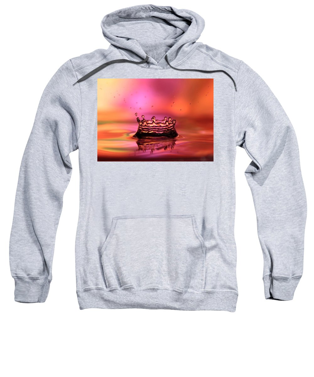 Splash Sweatshirt featuring the photograph Splash by Sabrina L Ryan