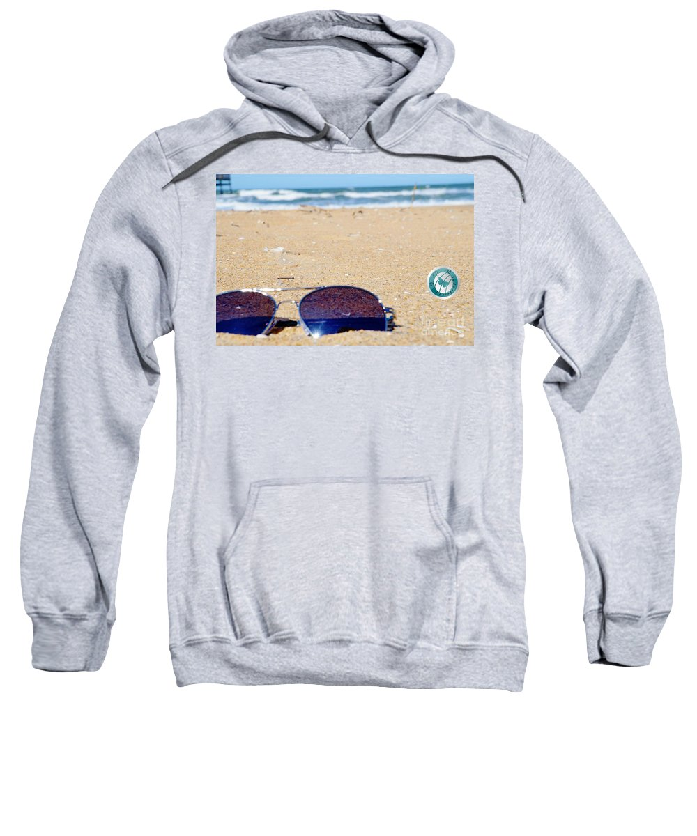 Beach Sweatshirt featuring the photograph Spring At The Beach by Jannice Walker