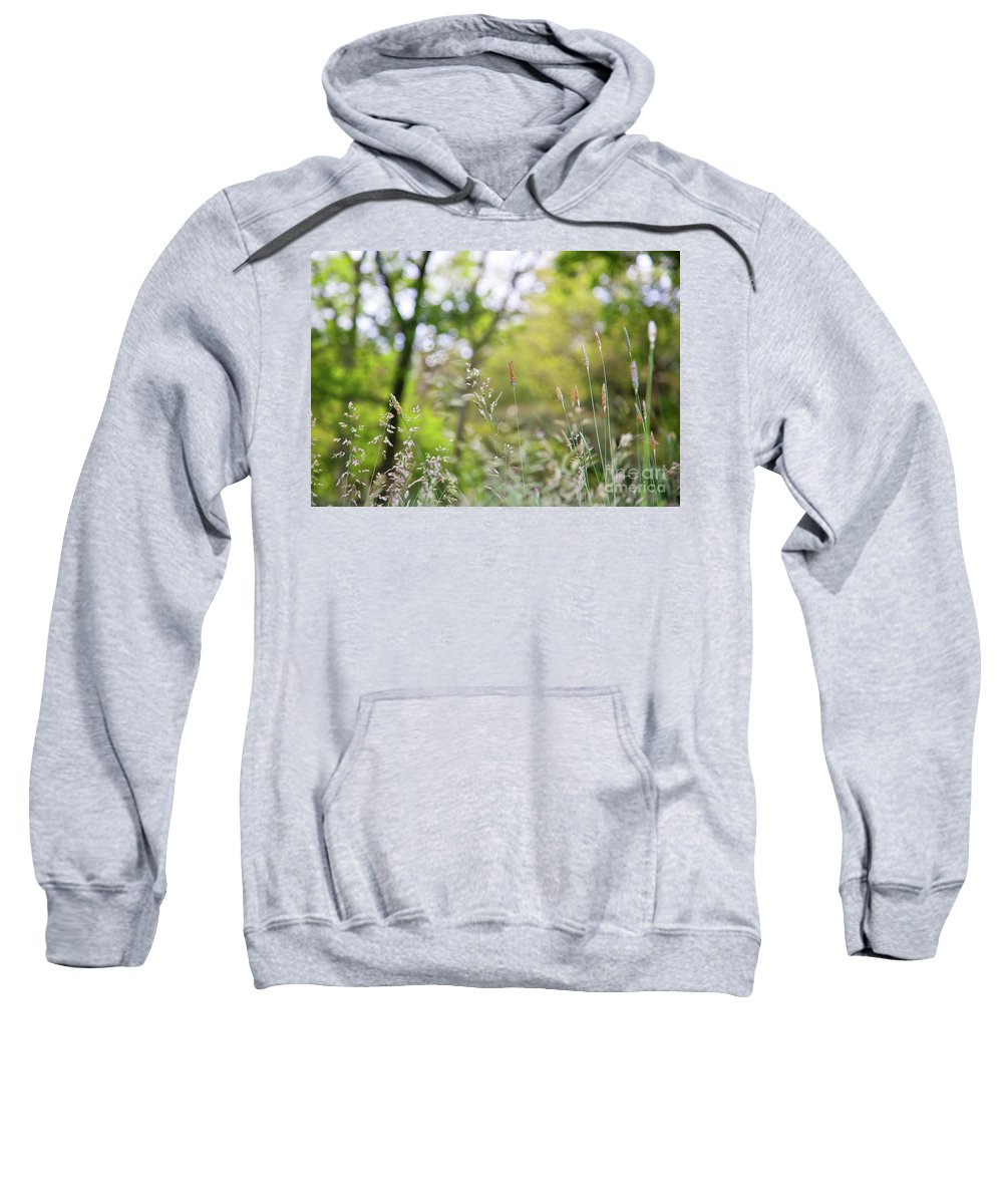Wildflowers Sweatshirt featuring the photograph Spring Breeze 3 by Alex Art and Photo