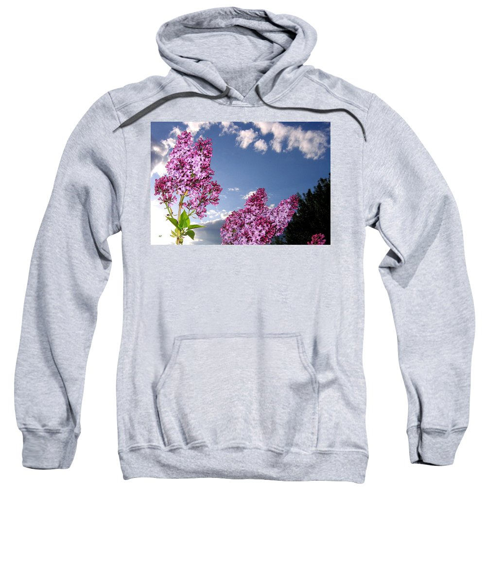 Spring Sweatshirt featuring the photograph Spring Evening by Will Borden