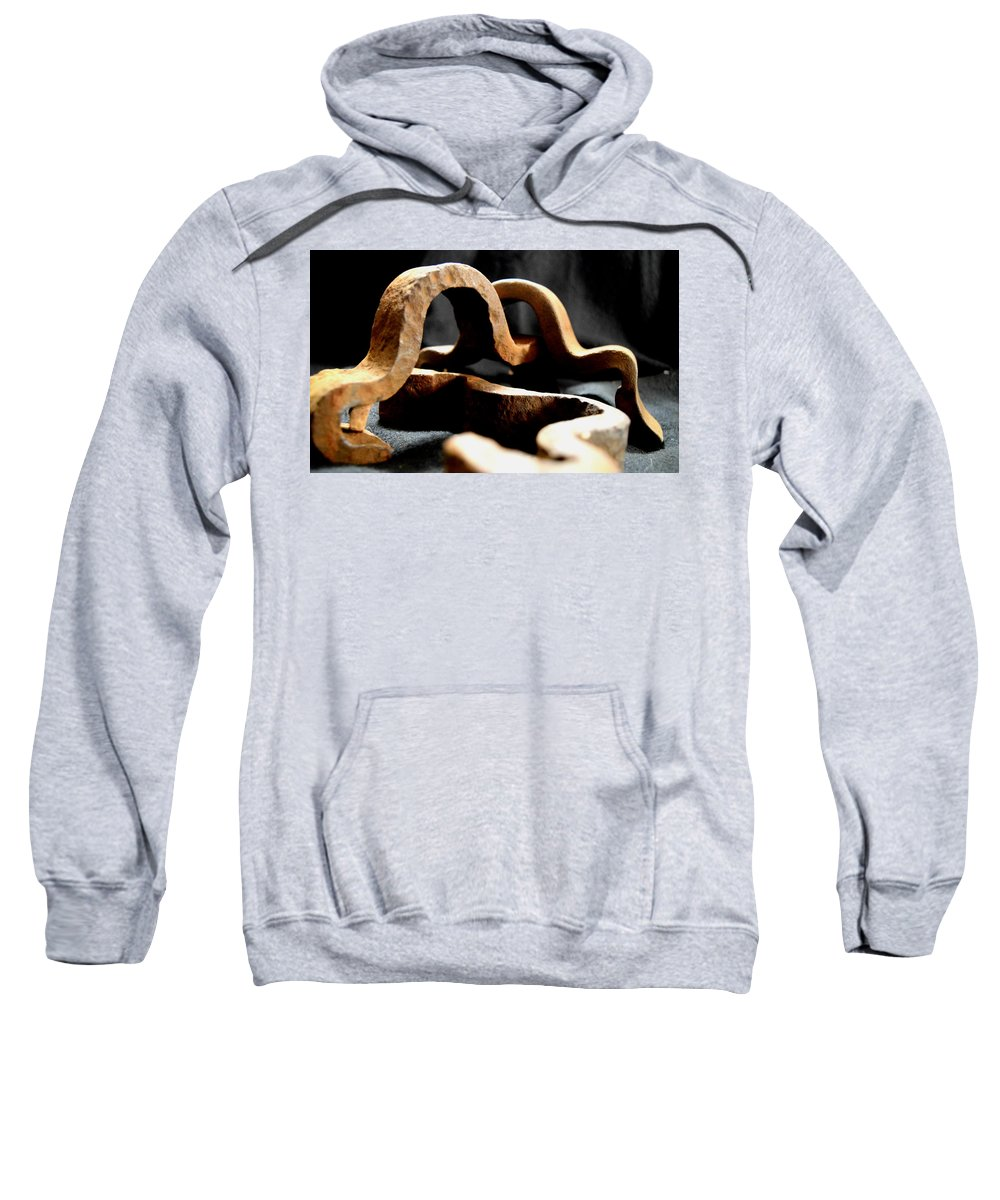 Sweatshirt featuring the photograph Squiggles by Irene's Imagery
