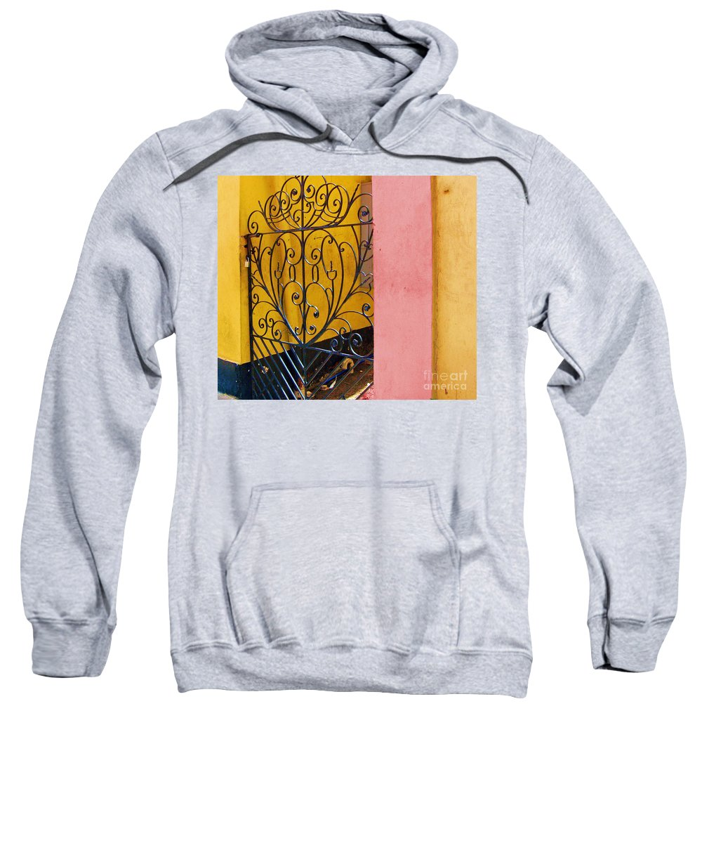 Gate Sweatshirt featuring the photograph St. Thomas Gate by Debbi Granruth