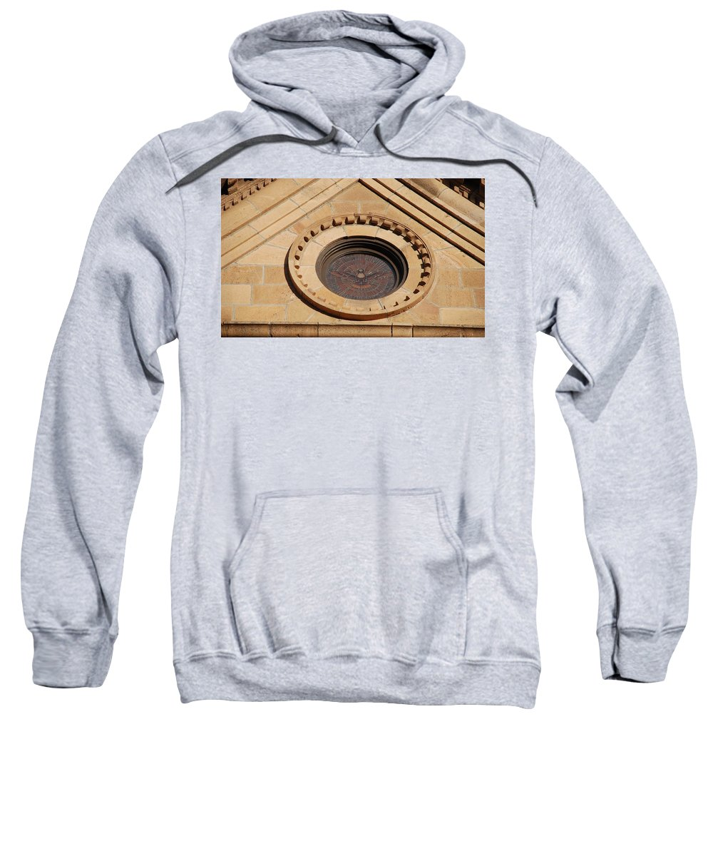 Bird Sweatshirt featuring the photograph Stained Glass Bird by Rob Hans