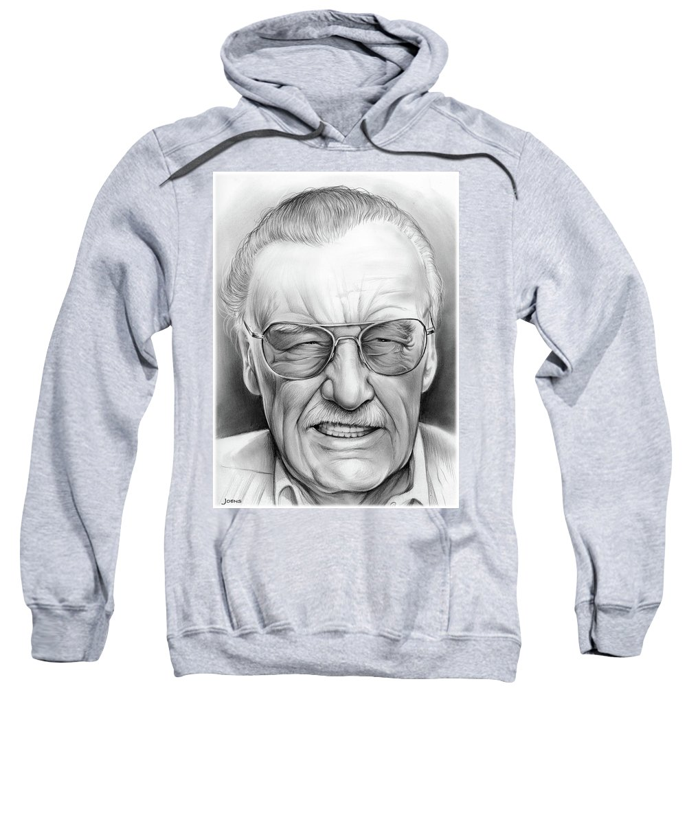 a20e8af7 Stan Lee Adult Pull-Over Hoodie for Sale by Greg Joens