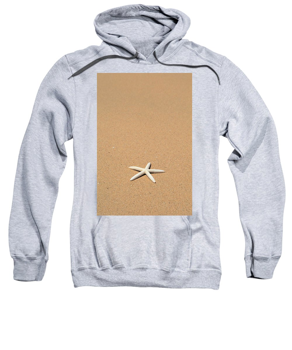 Animal Art Sweatshirt featuring the photograph Starfish by Kyle Rothenborg - Printscapes