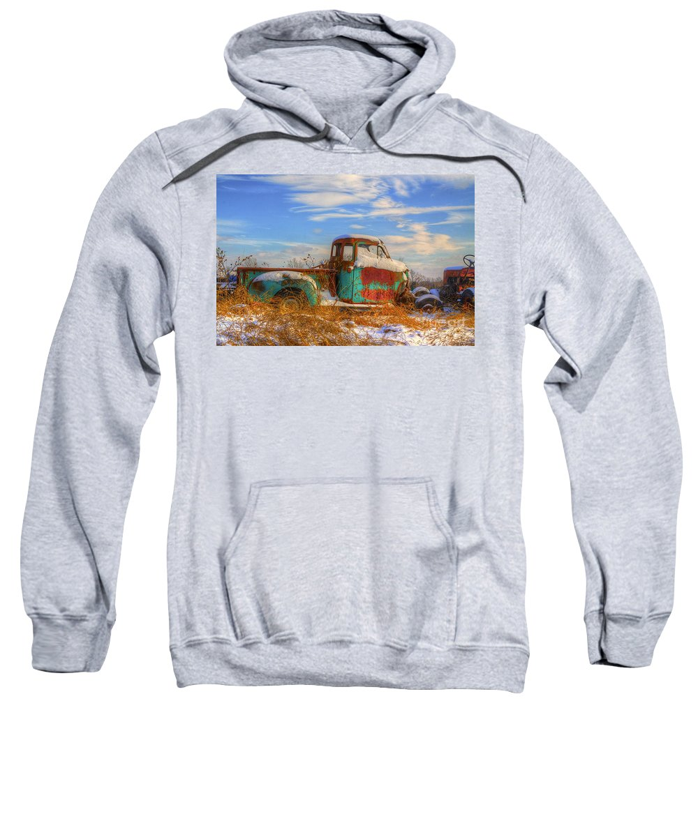 Old Sweatshirt featuring the photograph Starving Artist 2 by Robert Pearson