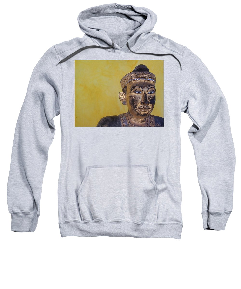 Charity Sweatshirt featuring the photograph Statue by Mary-Lee Sanders