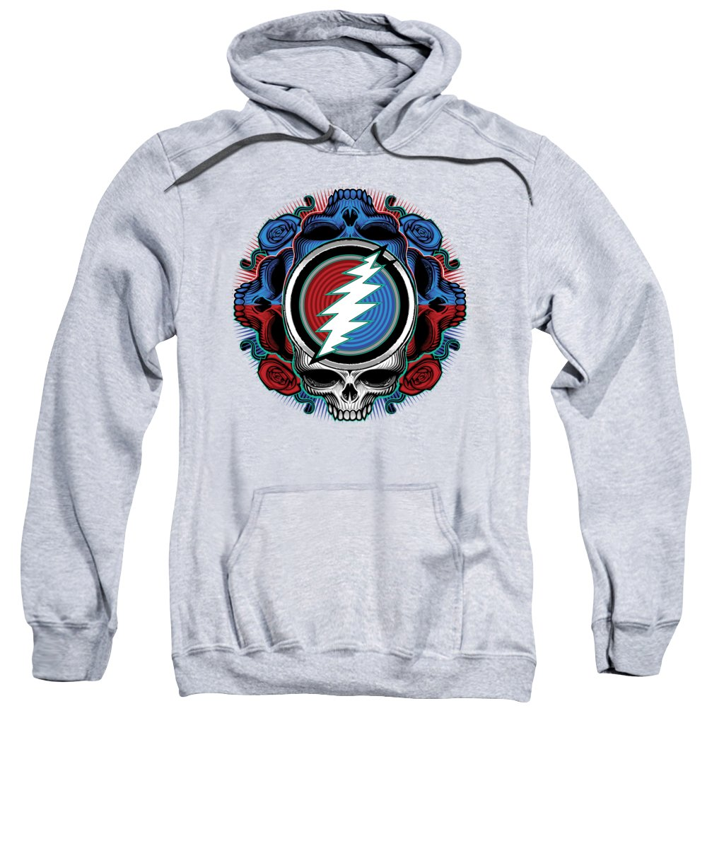 9709f74eb09 Steal Your Face Sweatshirt featuring the digital art Steal Your Face -  Ilustration by The Bear