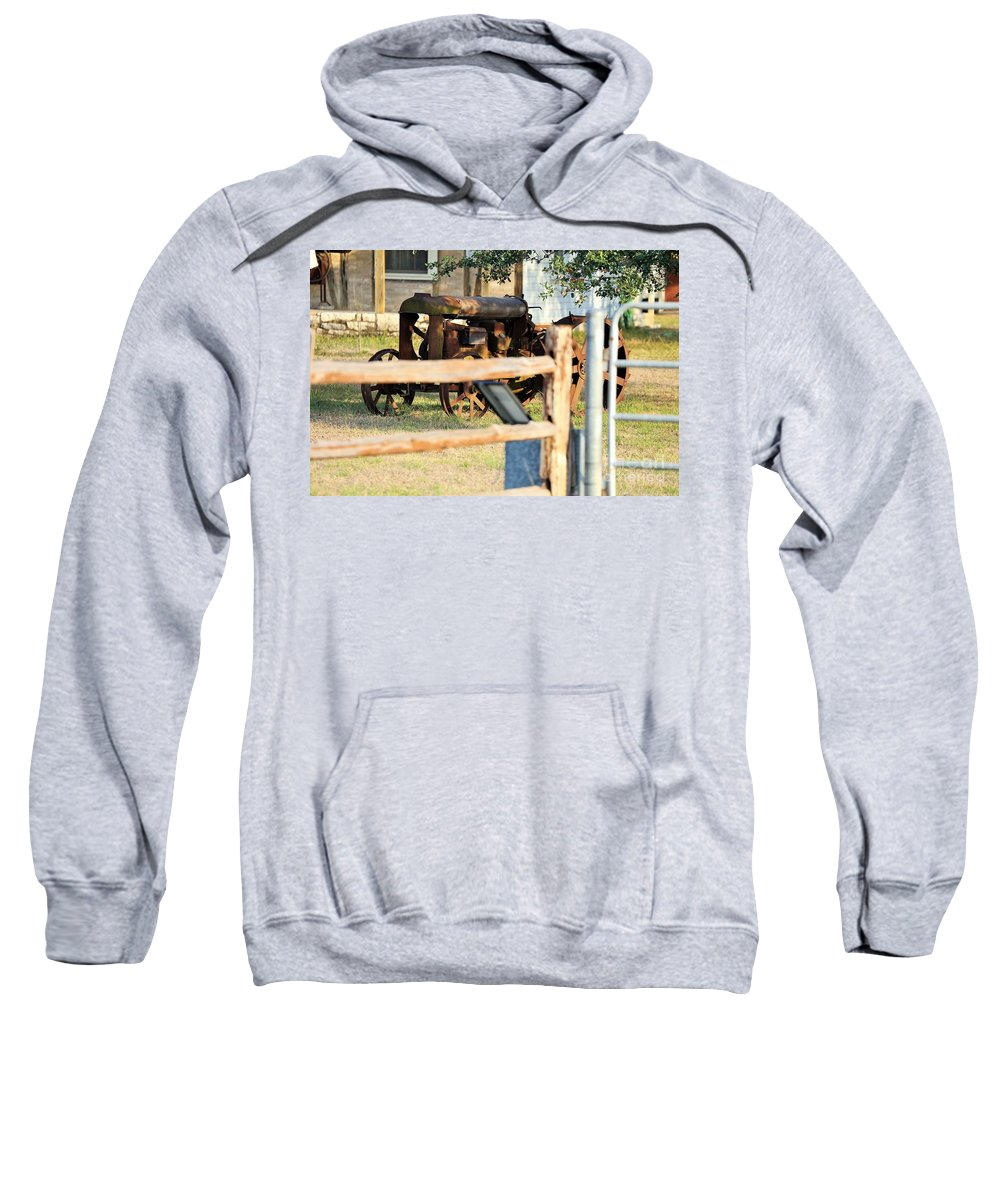 Sweatshirt featuring the photograph Steel For Rocks by Jeff Downs