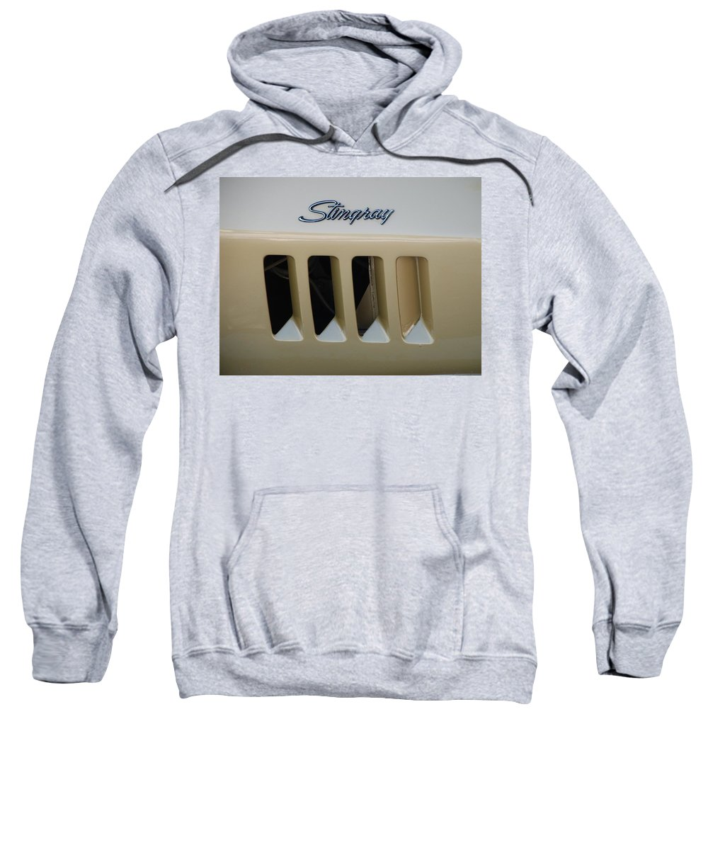 Stingray Sweatshirt featuring the photograph Stingray by Rob Hans