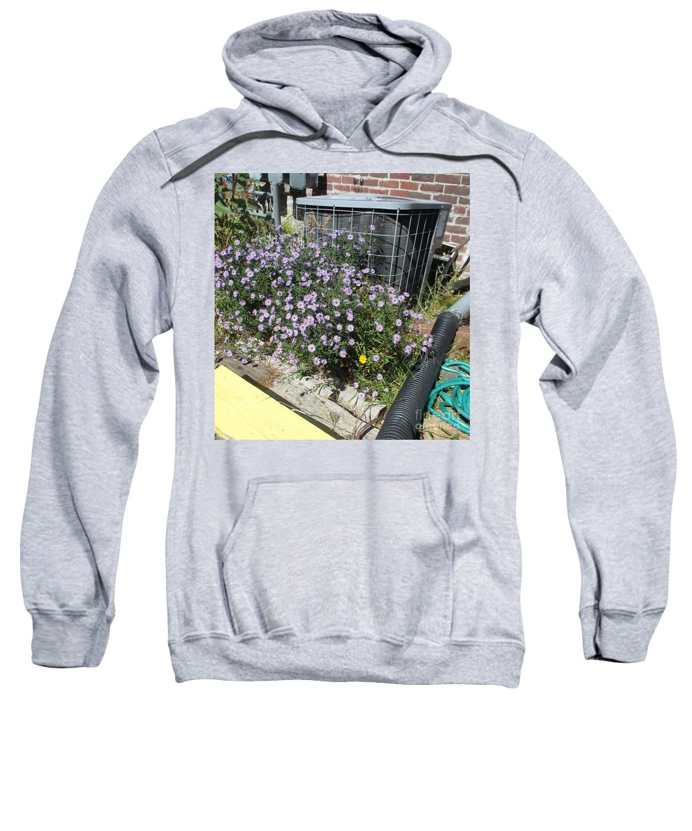 Flowers Sweatshirt featuring the photograph Stopping Starting And Sorting Through by Marie Neder