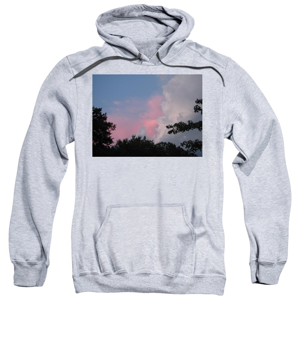 Storm Sweatshirt featuring the photograph Storm Rolling In by Kelly Mezzapelle