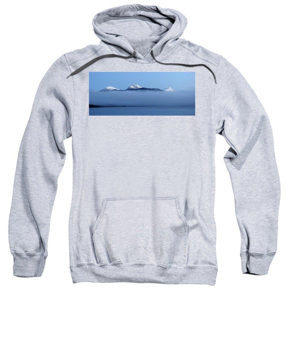 Straits Of Magellan Sweatshirt featuring the photograph Straits Of Magellan V by Brett Winn