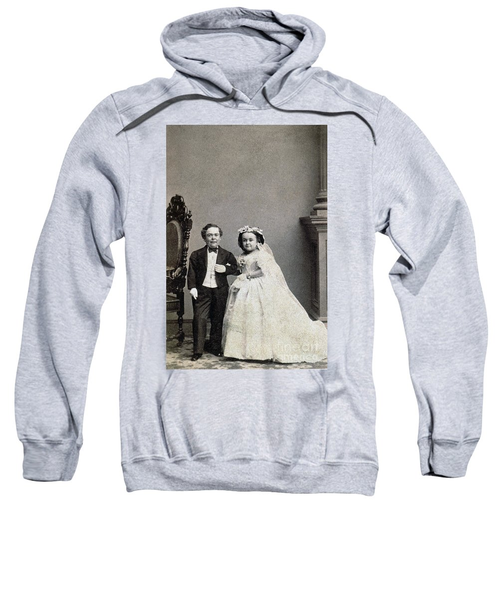 1863 Sweatshirt featuring the photograph Stratton: Gen. Tom Thumb by Granger