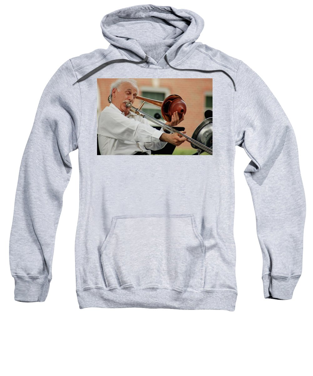 Old Man Sweatshirt featuring the photograph Stretch by Vm Vassolo