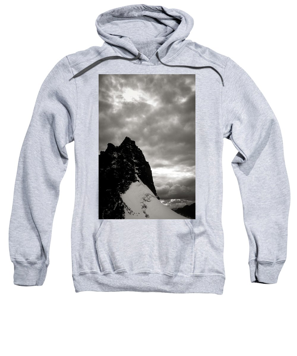 Alone Sweatshirt featuring the photograph Stronghold by Konstantin Dikovsky