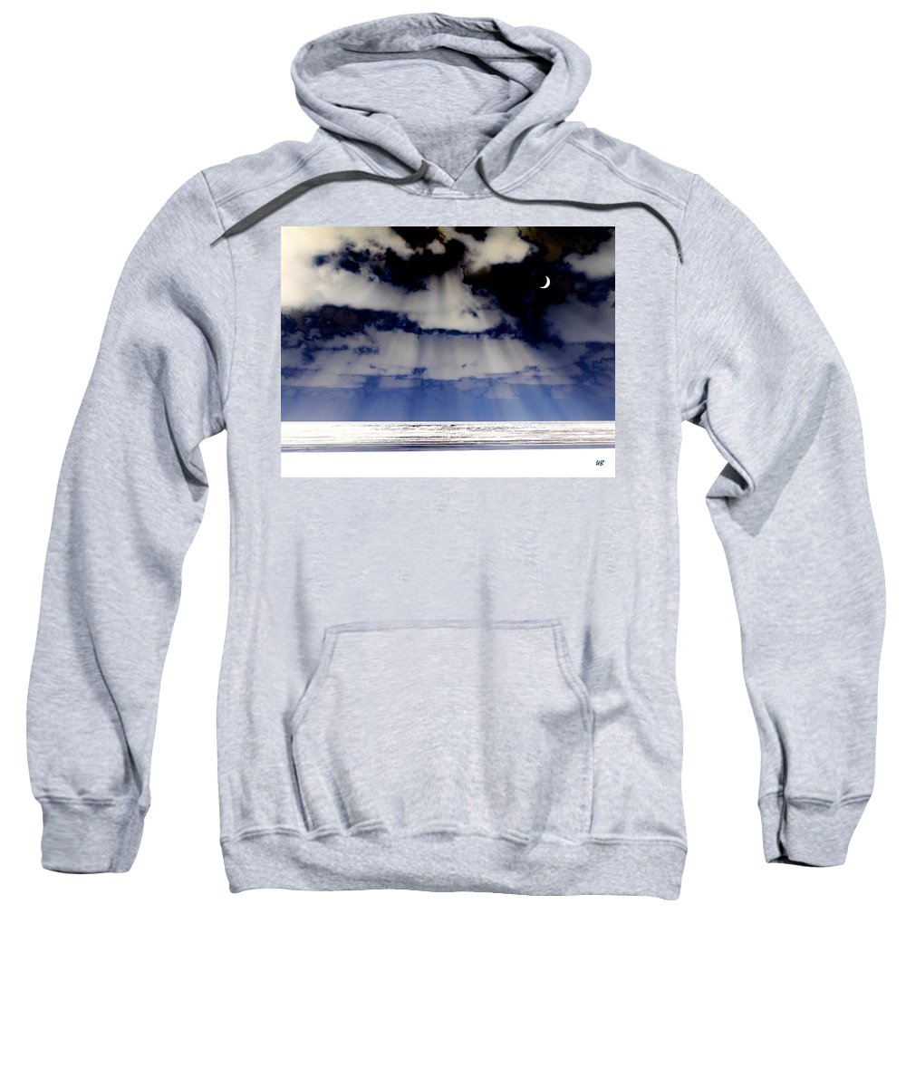 Surreal Sweatshirt featuring the digital art Sub Zero by Will Borden