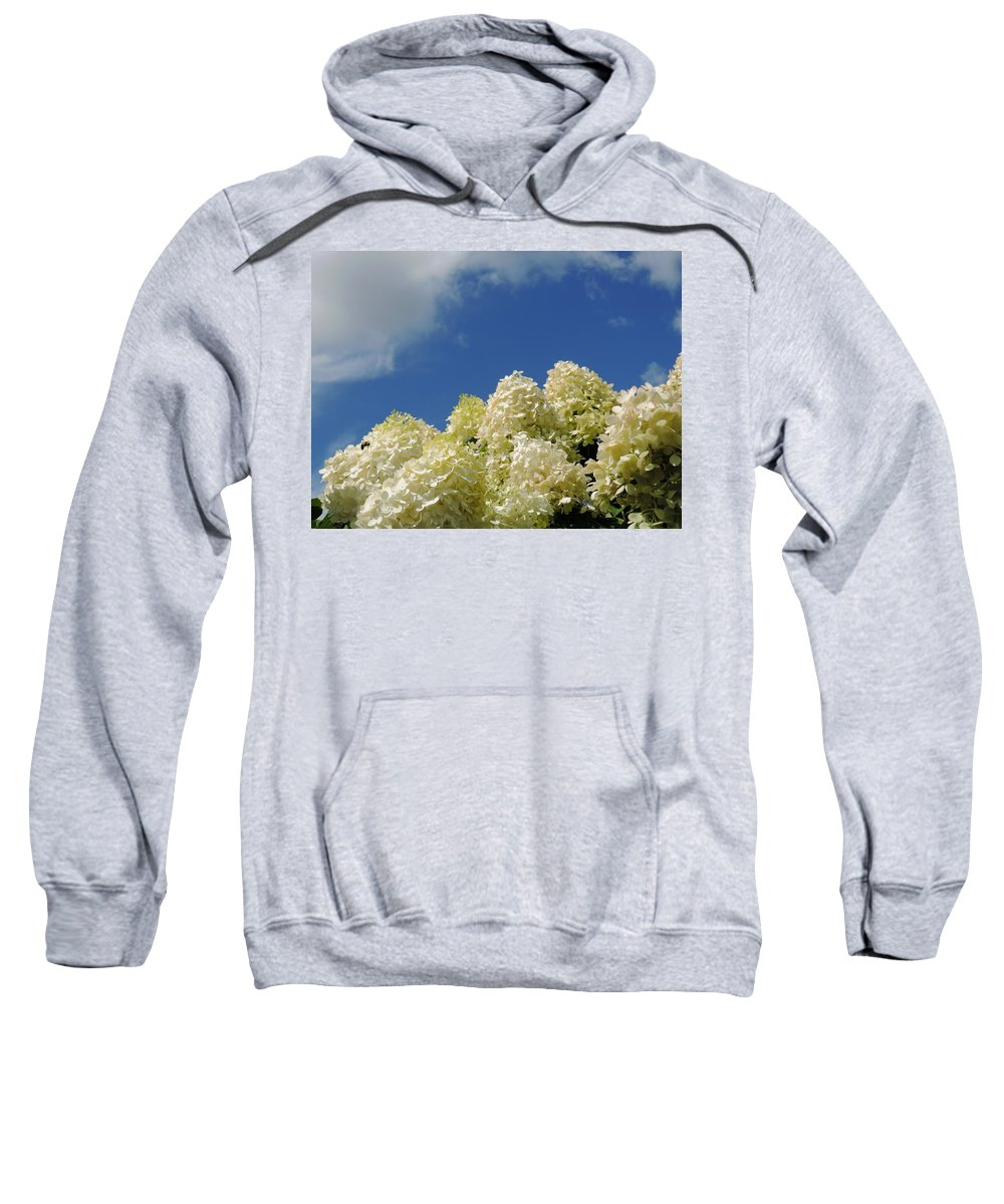 Sky Sweatshirt featuring the photograph Summer Day by Teresa Schomig