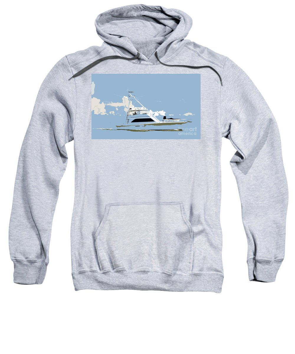 Boat Sweatshirt featuring the photograph Summer Freedom by David Lee Thompson