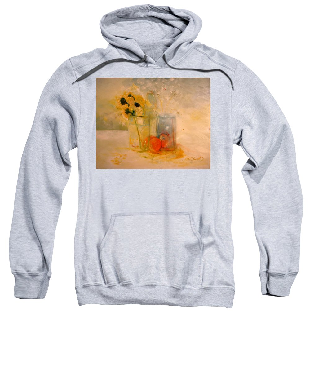 Daisey Sweatshirt featuring the painting Summer Light by Jack Diamond