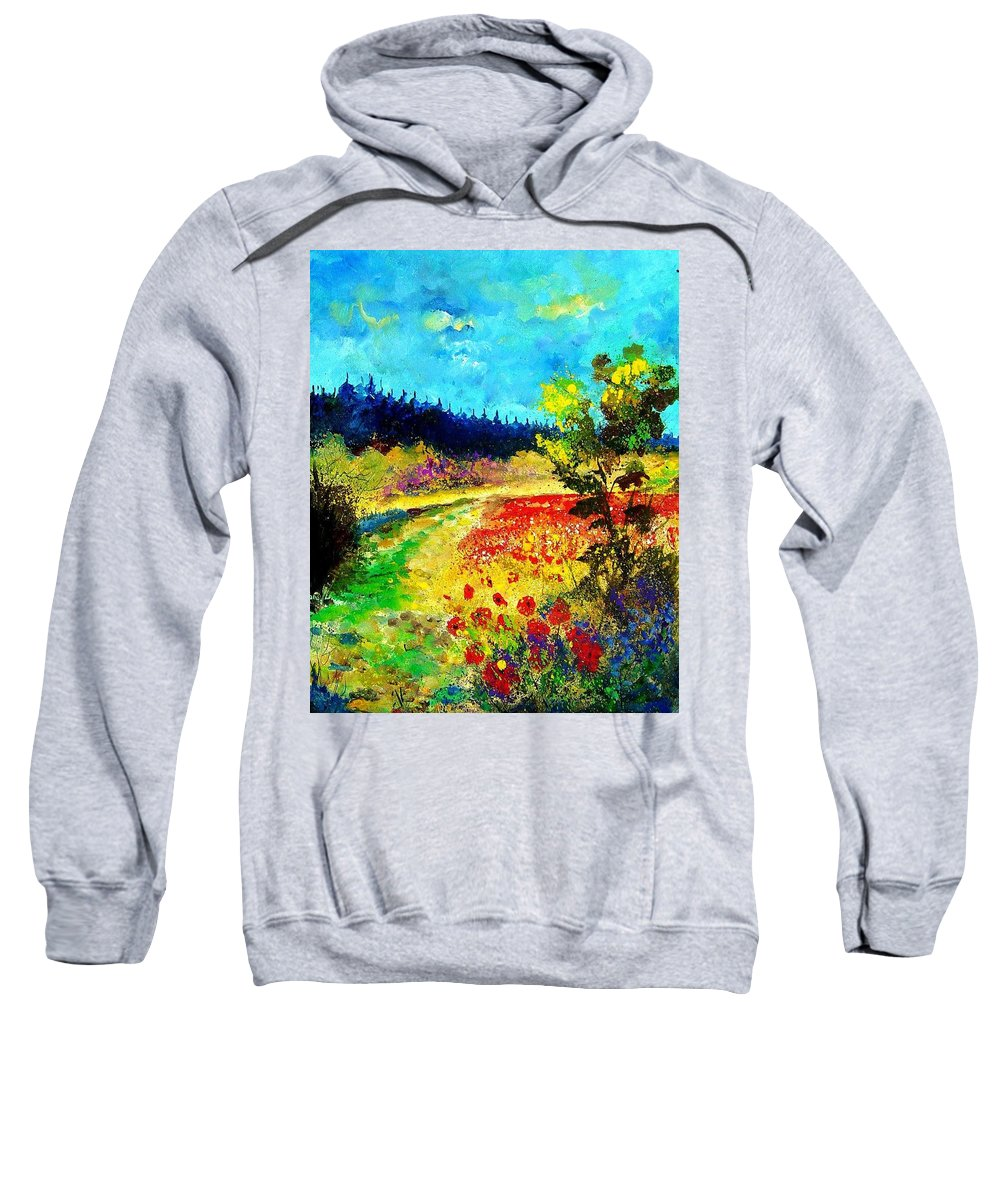 Flowers Sweatshirt featuring the painting Summer by Pol Ledent