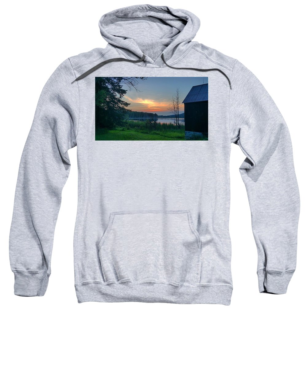 Summer Sweatshirt featuring the photograph Summertime In Northern Michigan by Michael Palko