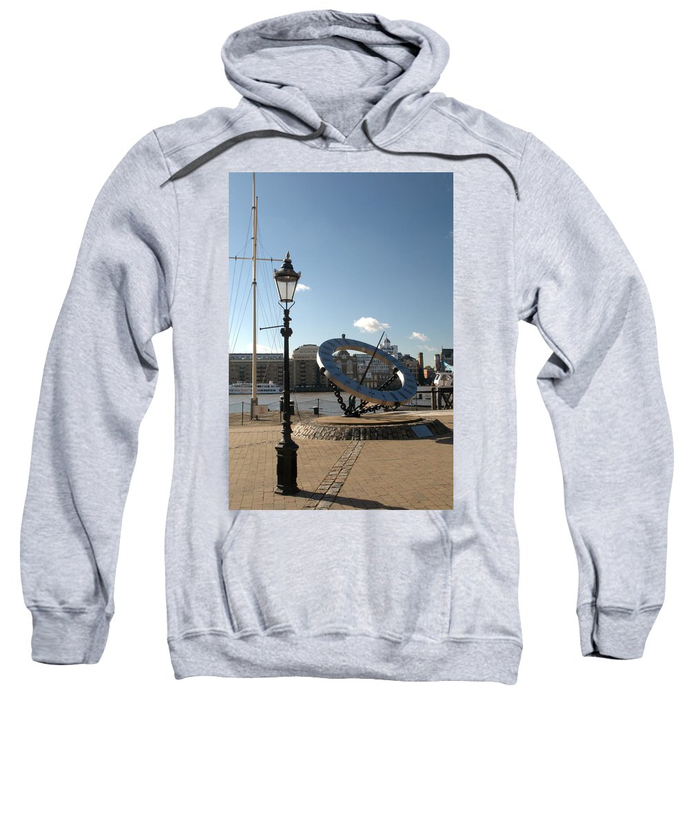 Sun Sweatshirt featuring the photograph Sun Dial by Chris Day
