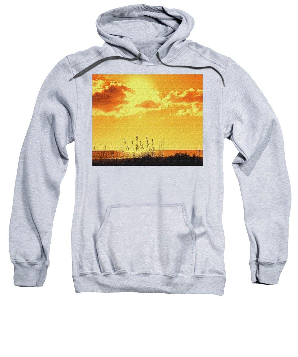 Sun Sweatshirt featuring the photograph Sun by Ian MacDonald