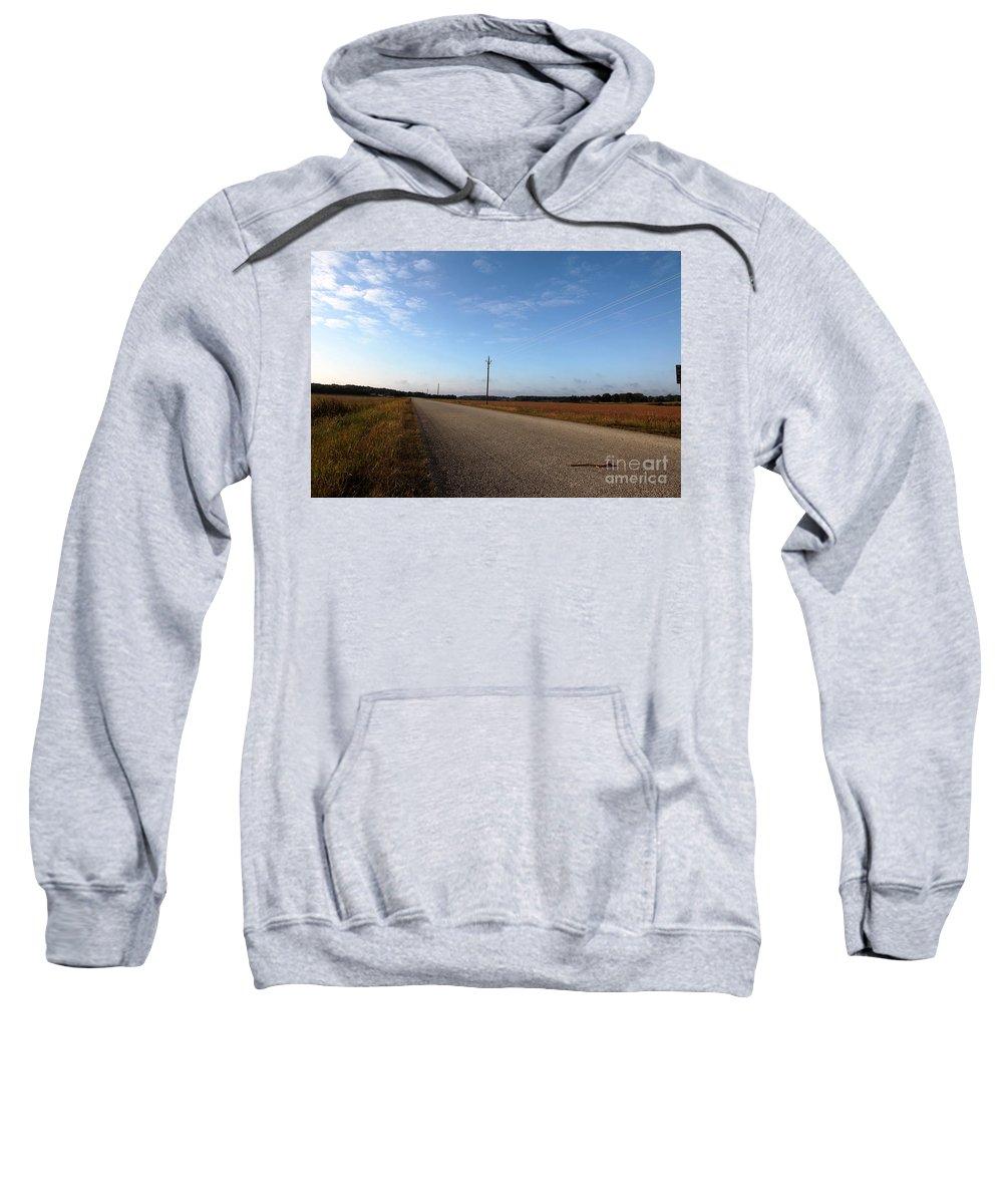 Roads Sweatshirt featuring the photograph Sunday Drive Series by Amanda Barcon