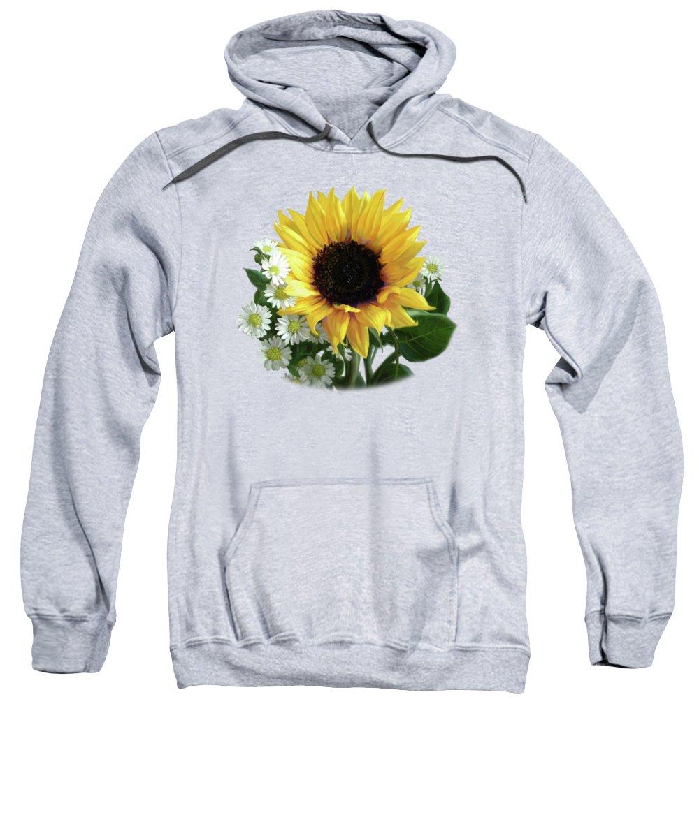Daisy Hooded Sweatshirts T-Shirts