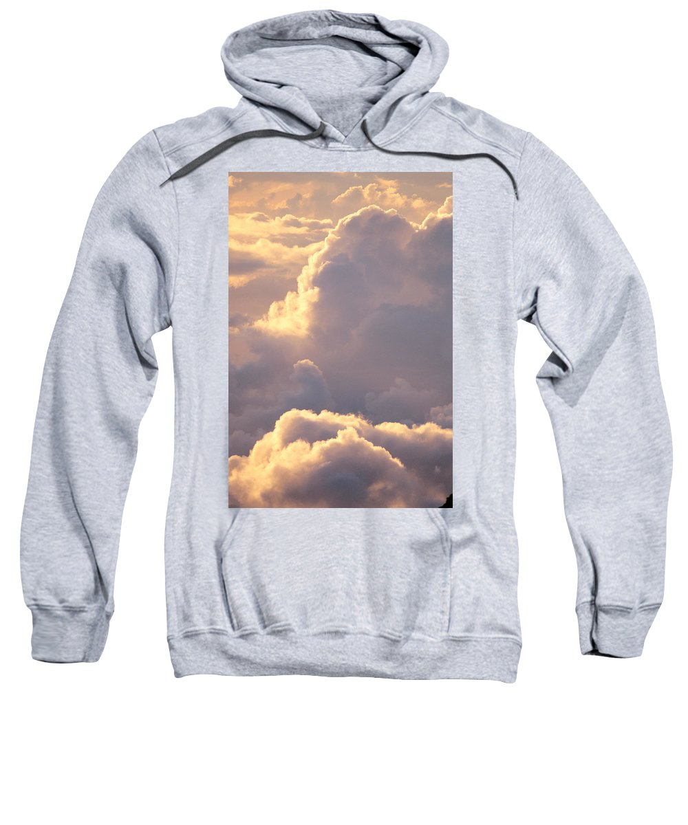 Air Art Sweatshirt featuring the photograph Sunrise With Shadows by John Hyde - Printscapes