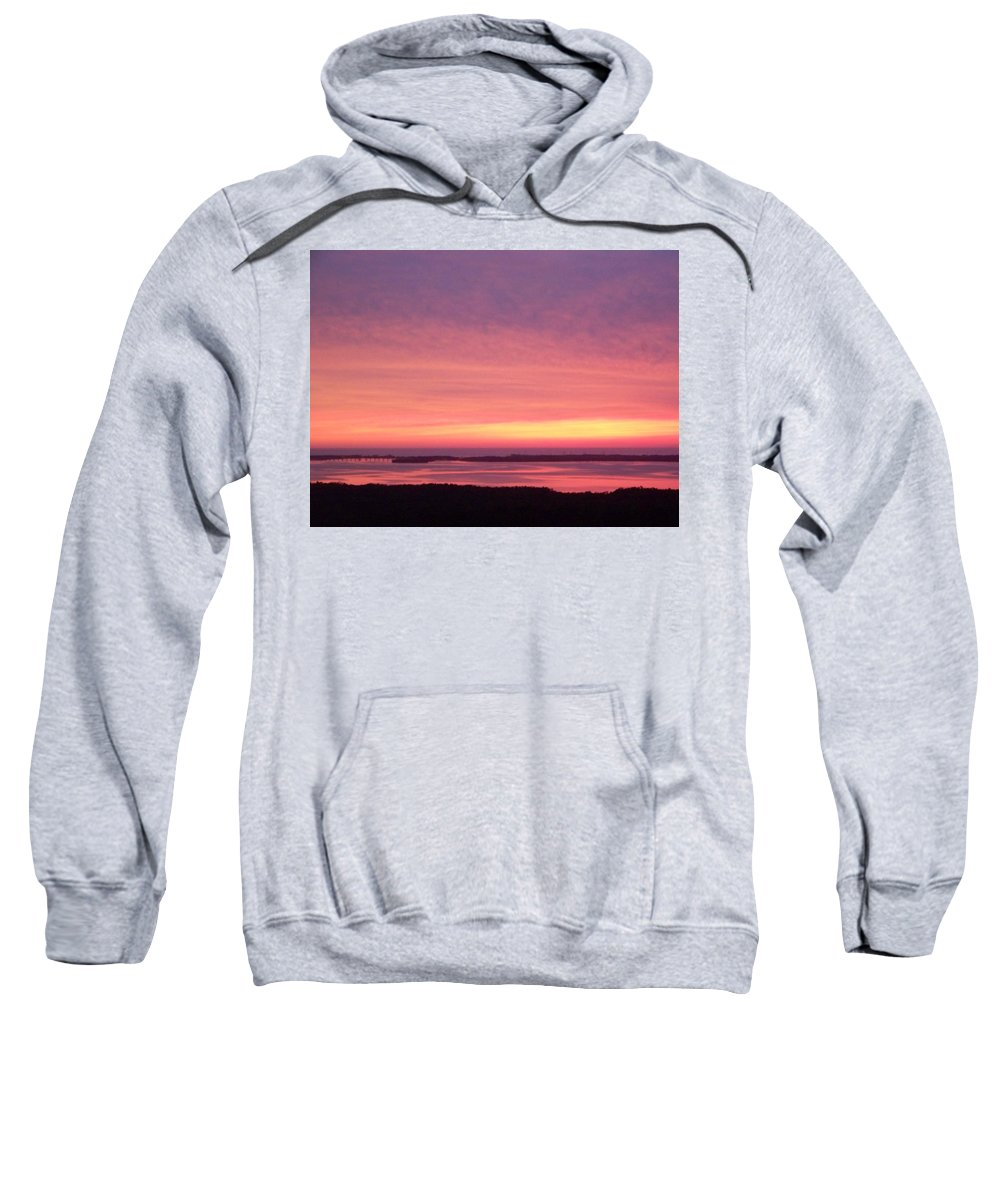 Sunset Sweatshirt featuring the photograph Sunset 0029 by Laurie Paci