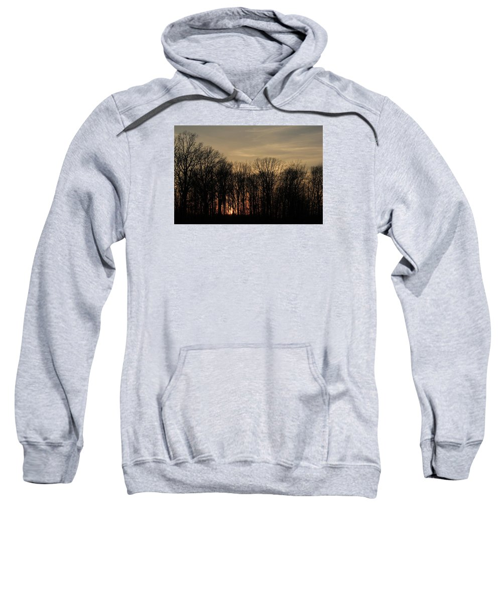 Sunset Sweatshirt featuring the photograph Sunset by David Lyon