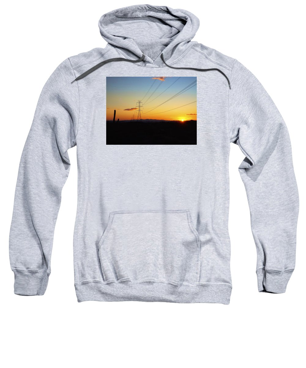 Sunset Sweatshirt featuring the photograph Sunset Hike 2 by Michael Cappelli