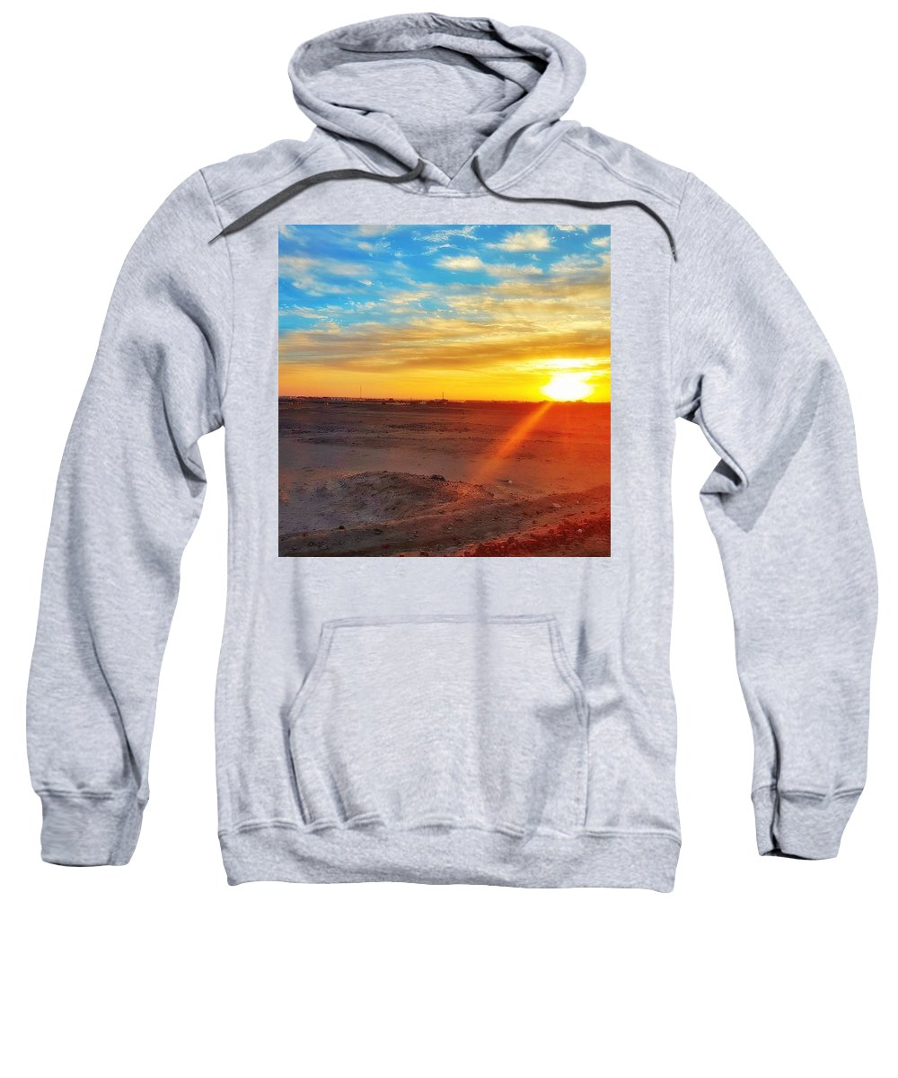 Sunset Landscape Hooded Sweatshirts T-Shirts
