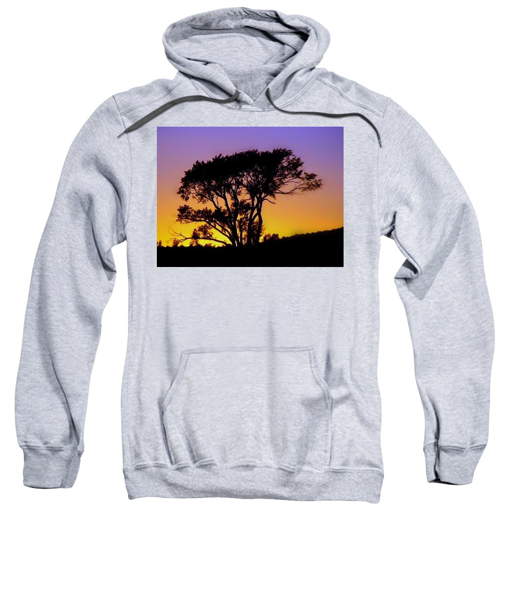 Banyan Sweatshirt featuring the photograph Sunset On The Rim by Paolo Govoni