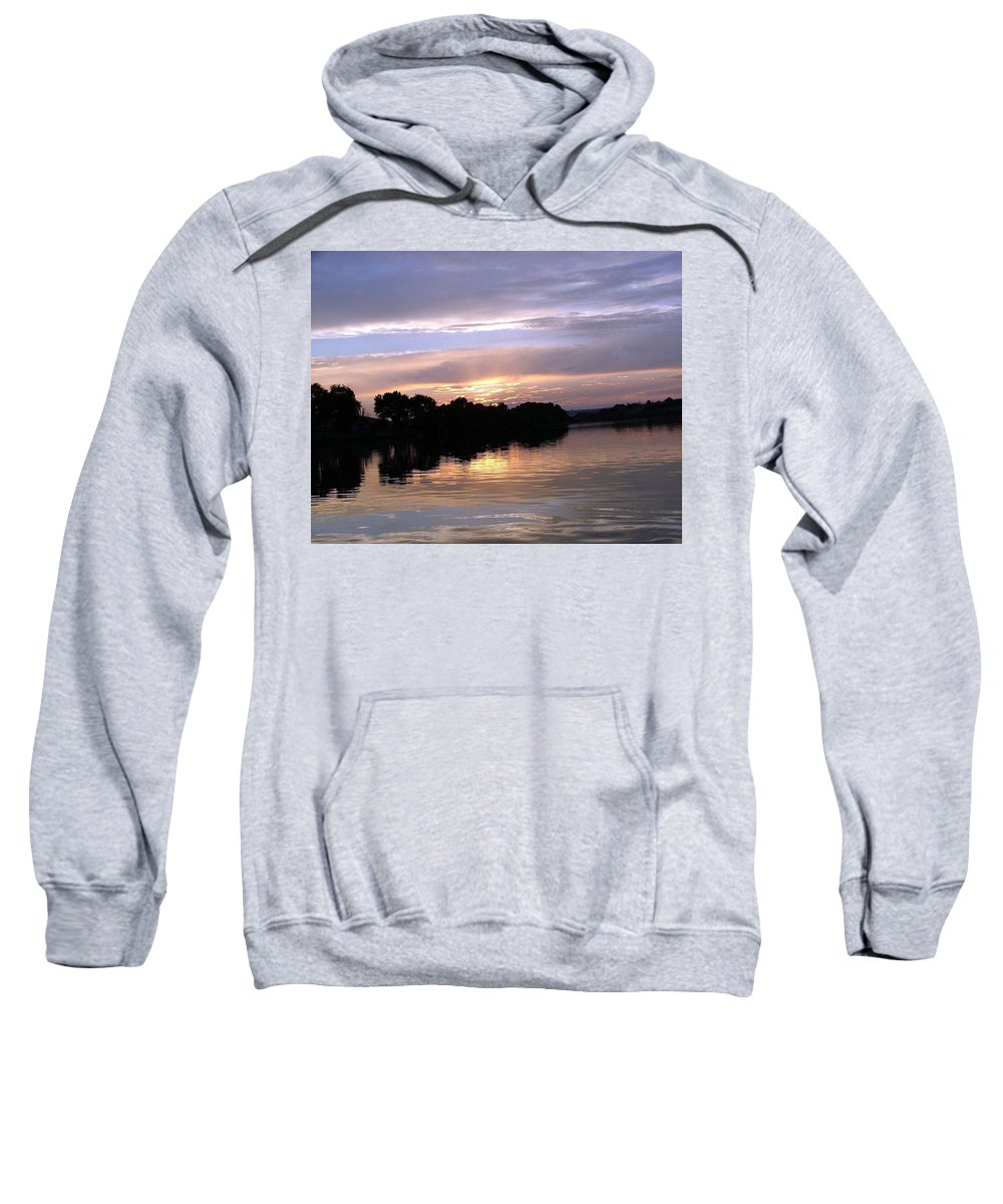 Snake River Sweatshirt featuring the photograph Sunset On The Snake by Dawn Blair