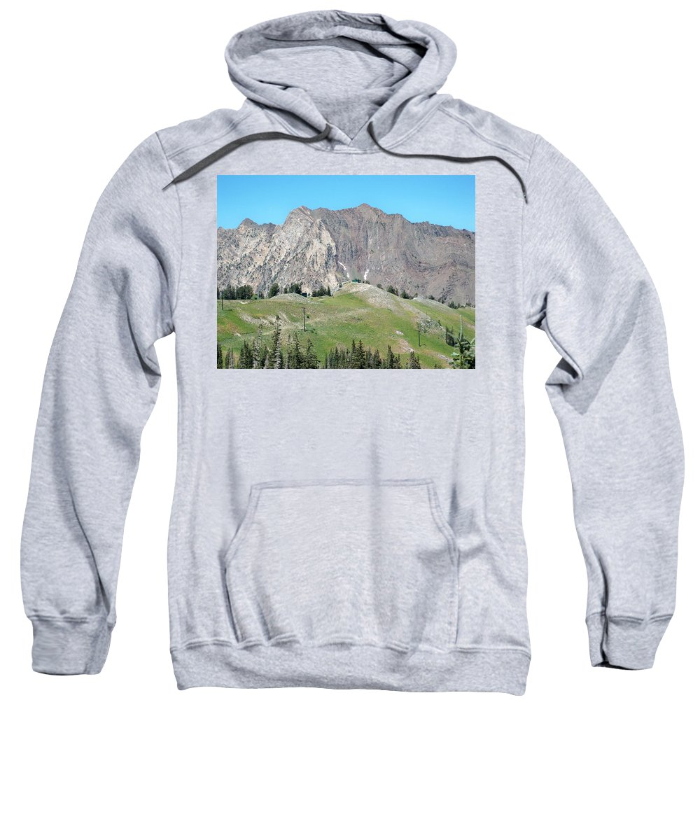 Landscape Sweatshirt featuring the photograph Superior by Michael Cuozzo