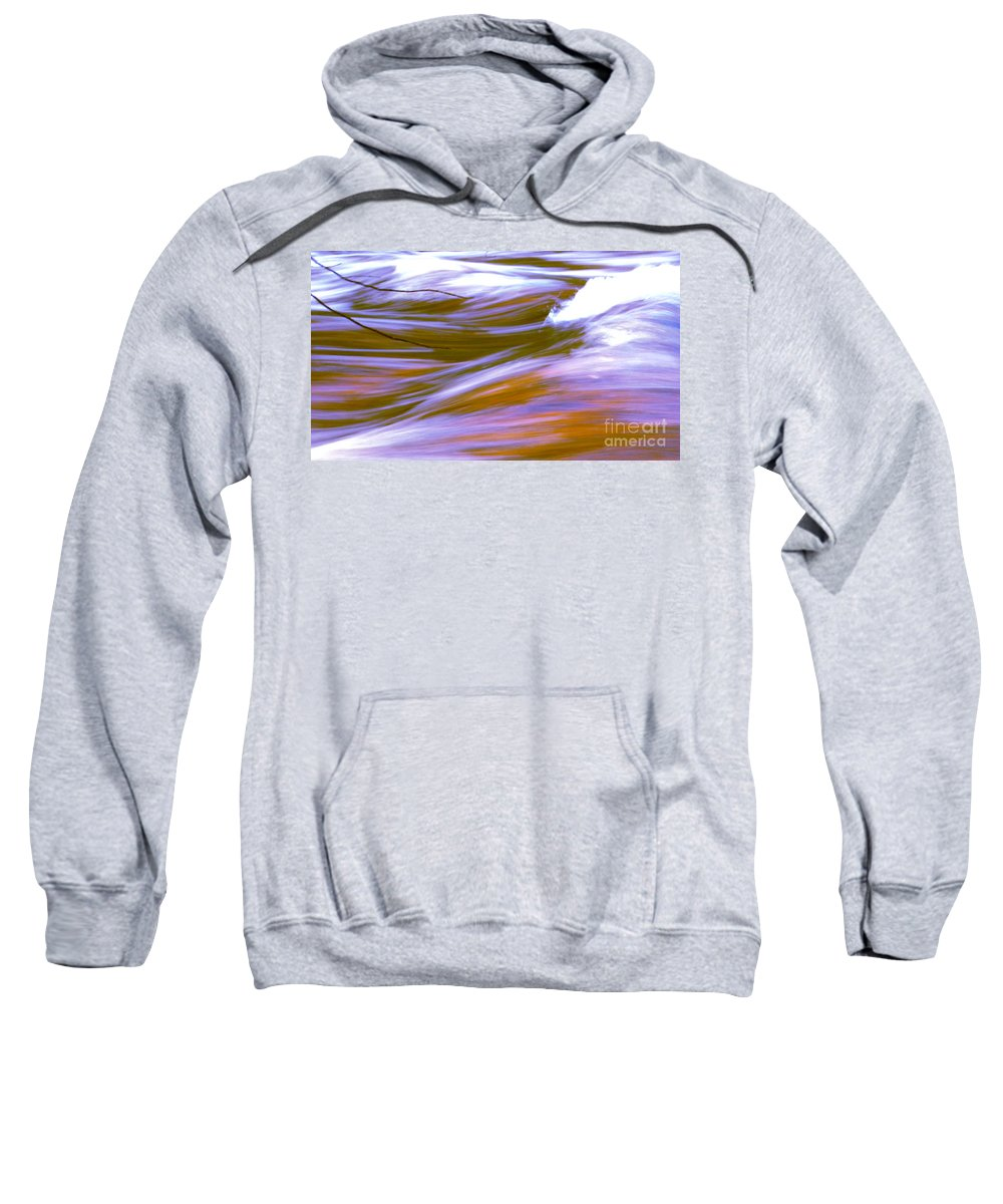 Water Sweatshirt featuring the photograph Surging Currents by Sybil Staples