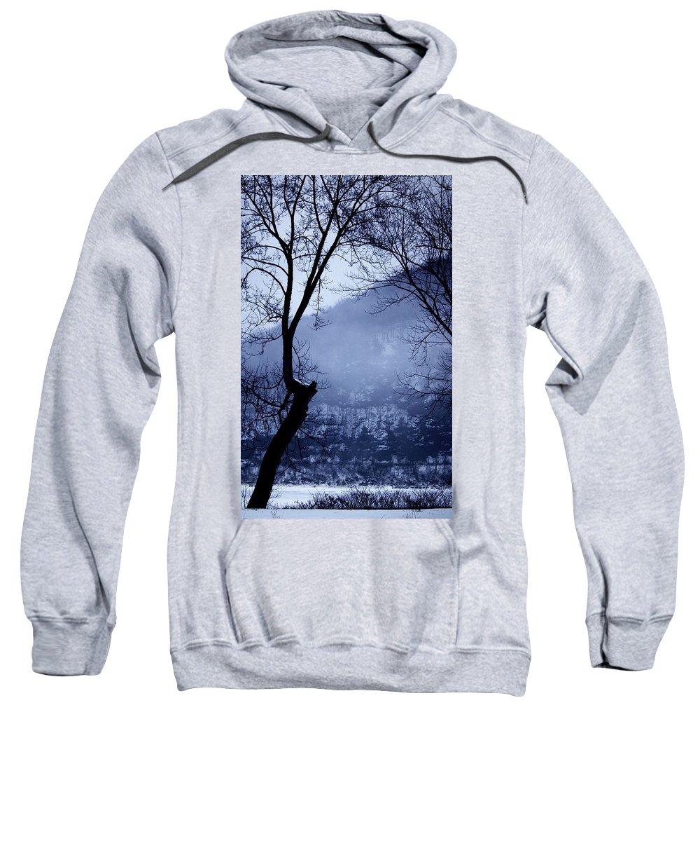 Falls Pennsylvania Sweatshirt featuring the photograph Susquehanna Dreamin... by Arthur Miller