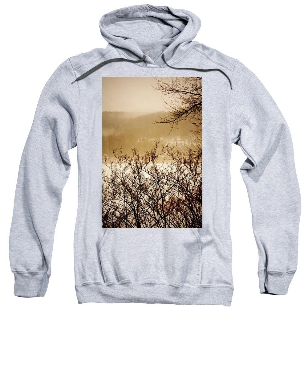 Falls Pennsylvania Sweatshirt featuring the photograph Susquehanna Vibes... by Arthur Miller