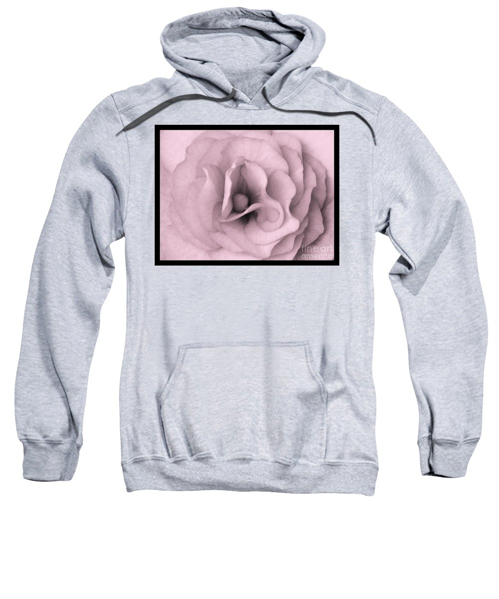 Dreamy Sweatshirt featuring the photograph Sweet Dreams In Pink by Carol Groenen