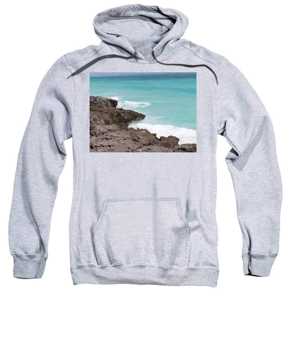Water Sweatshirt featuring the photograph Sweet Saltyness by Amanda Barcon