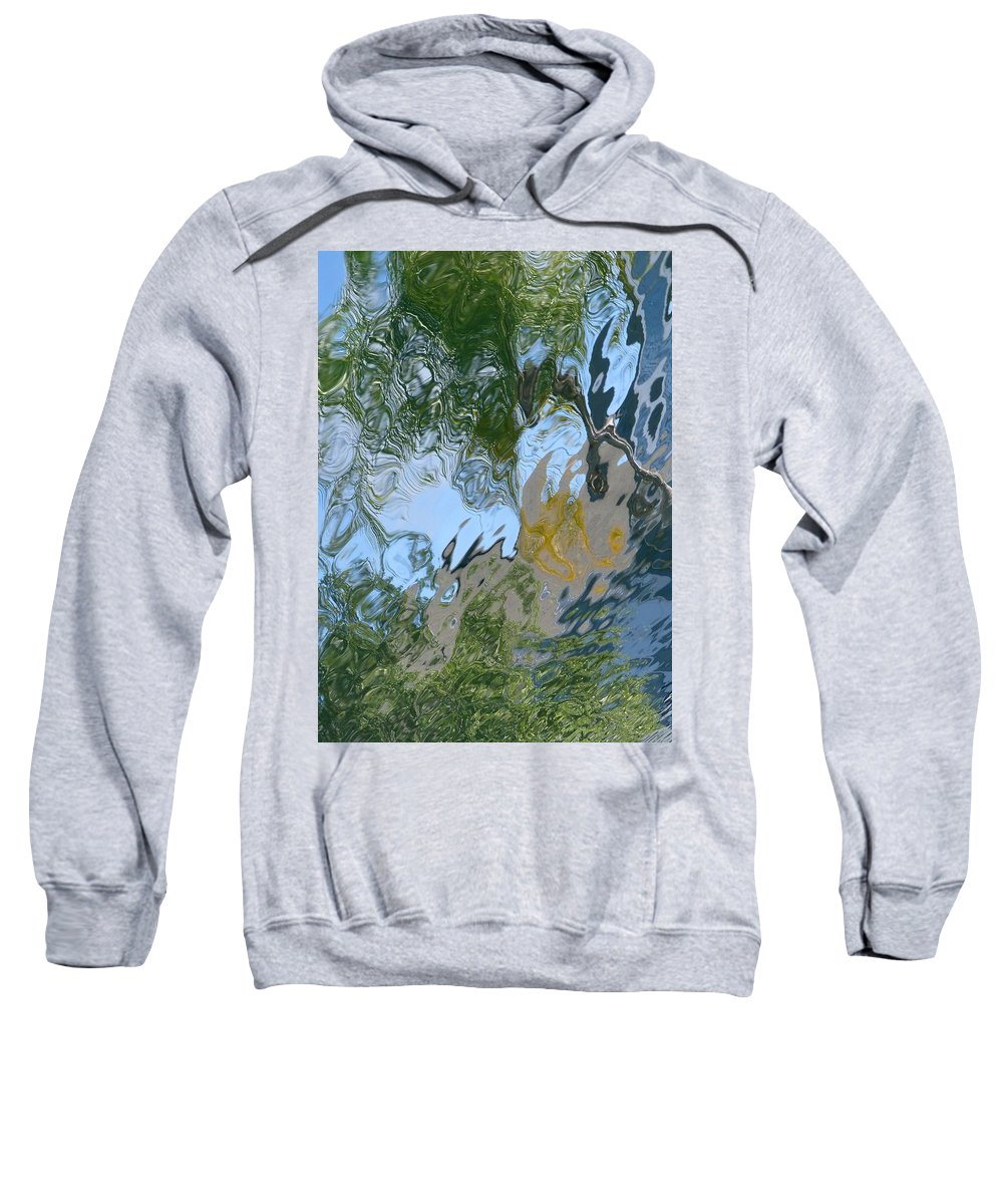Outdoors Sweatshirt featuring the photograph Swirl by Charles Ford