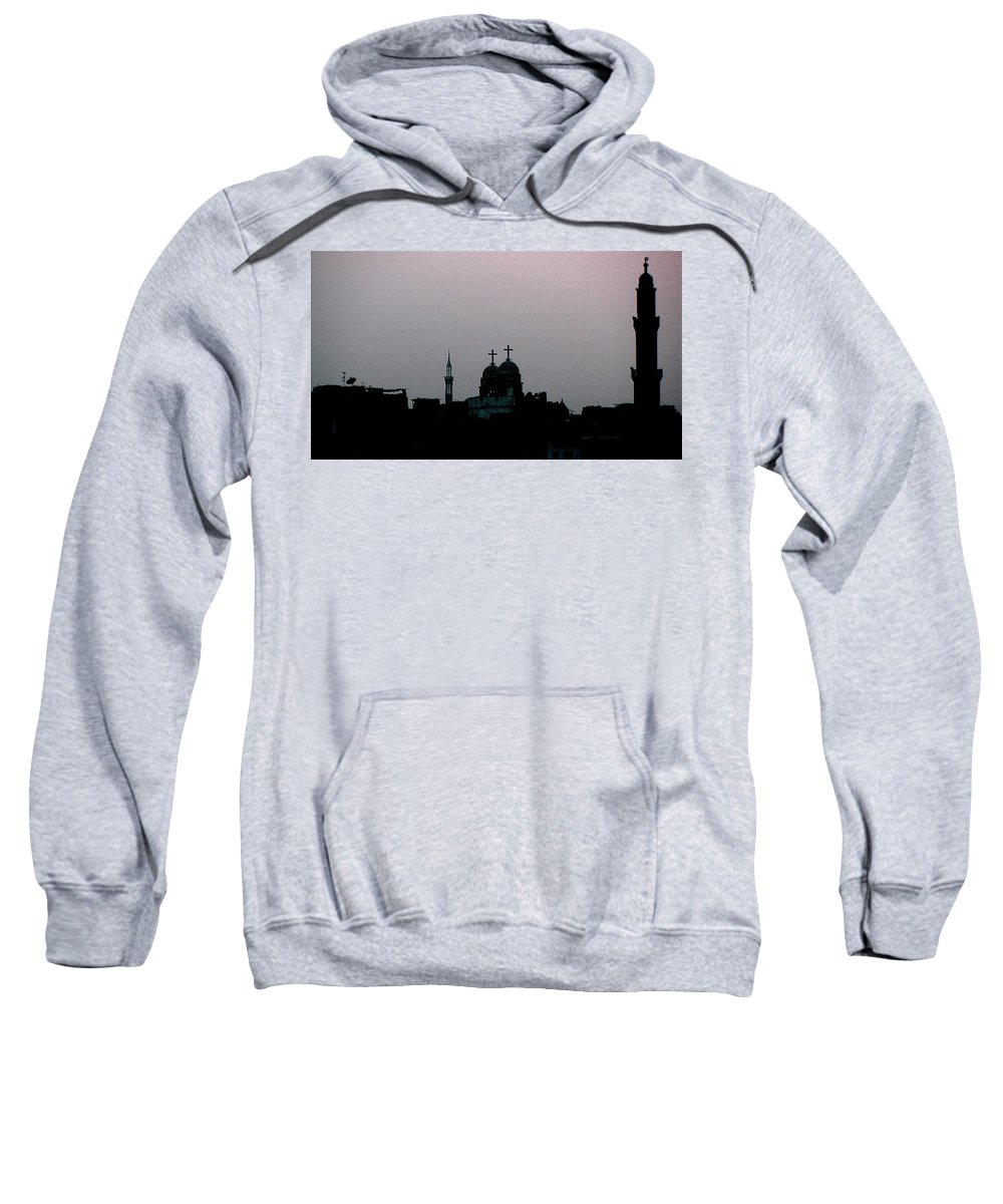 Cityscape Sweatshirt featuring the photograph Symbiosis by Dragica Micki Fortuna