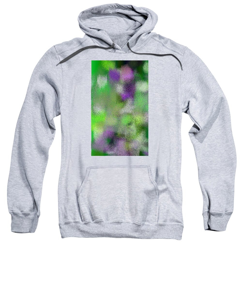 Abstract Sweatshirt featuring the digital art T.1.1946.122.3x5.3072x5120 by Gareth Lewis