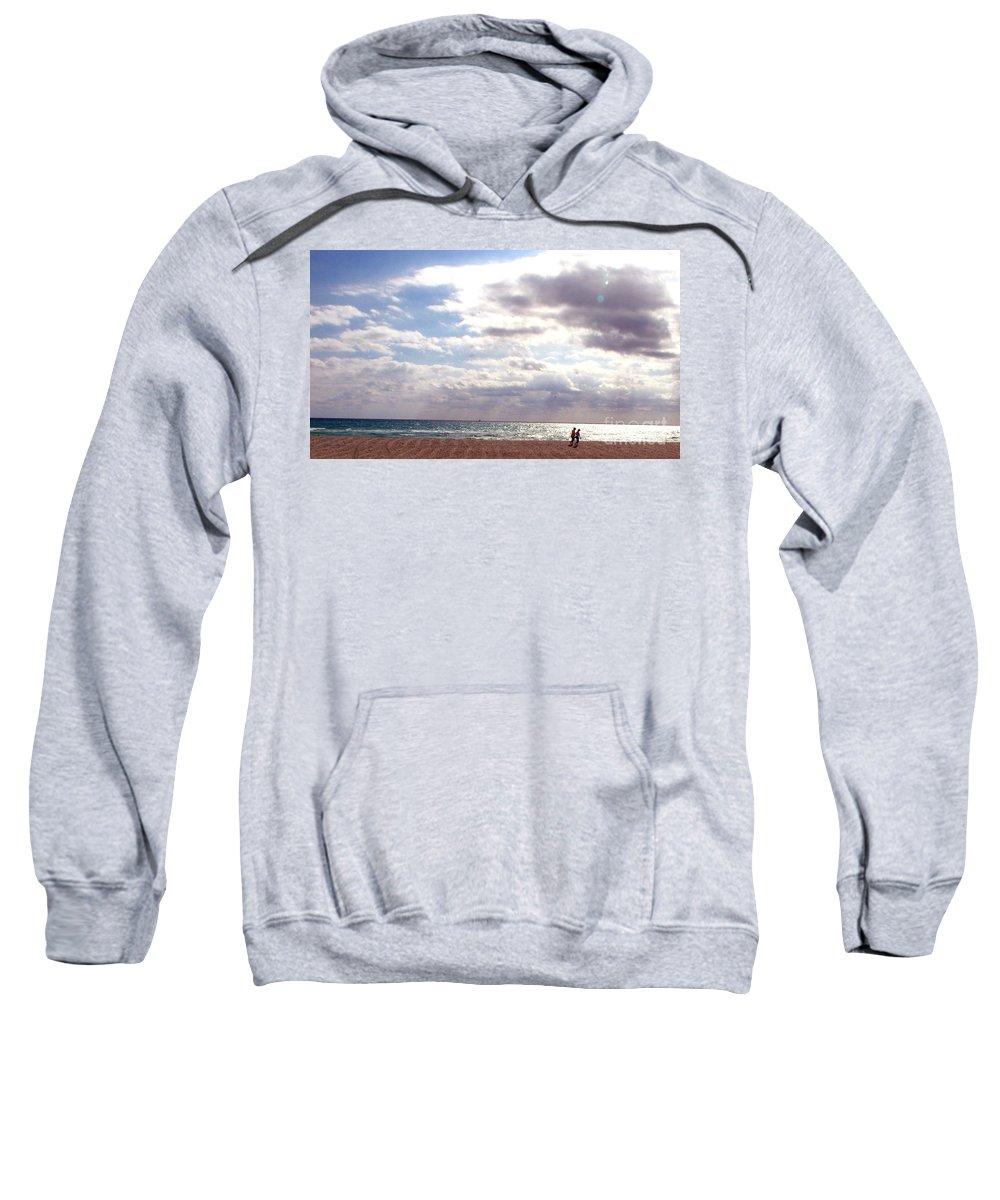 Walking Sweatshirt featuring the photograph Taking A Walk by Amanda Barcon