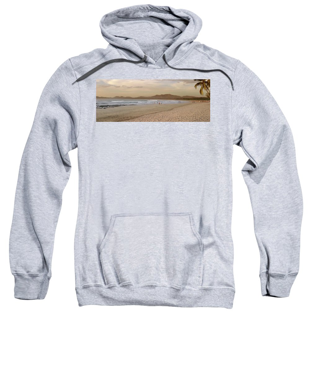 Costa Rica Beach Sweatshirt featuring the photograph Tamarindo Beach, Costa Rica by Guy Crittenden