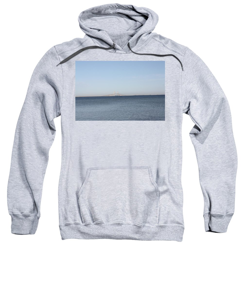 Scenic Sweatshirt featuring the photograph Tampa Bay 1 by Erin Rosenblum