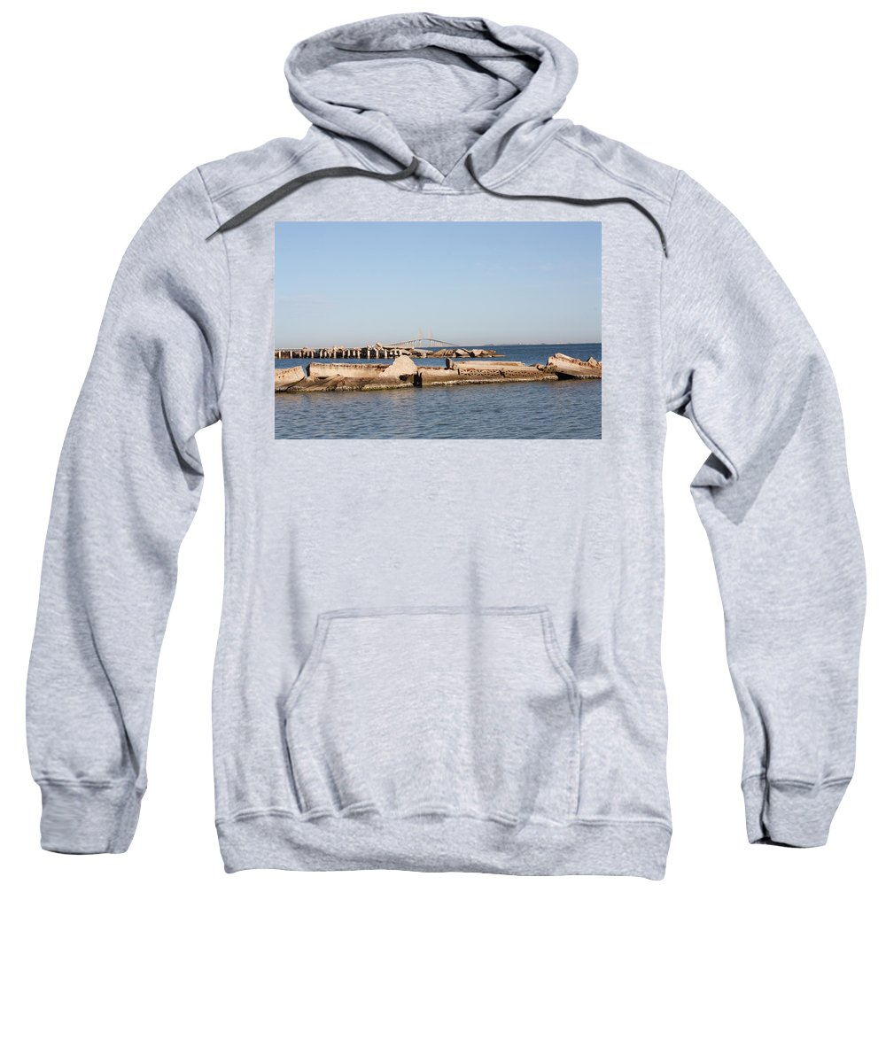 Scenic Sweatshirt featuring the photograph Tampa Bay 3 by Erin Rosenblum